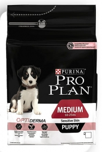 PRO PLAN MEDIUM PUPPY OPTIDERMA SENSITIVE SKIN 12KG
